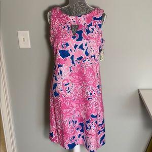 NWT Just ...Taylor Keyhole Floral Sheath Dress